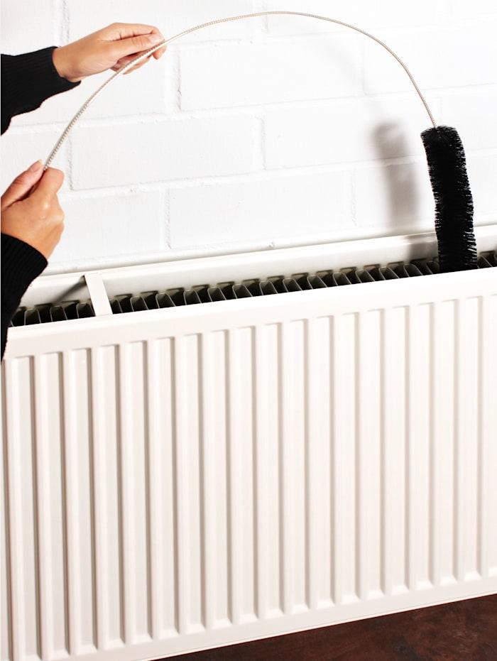 GHZ Buigzame radiatorborstel, Zwart