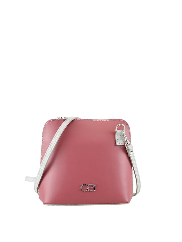 Leder Wendetasche Francine zweifarbige Tasche