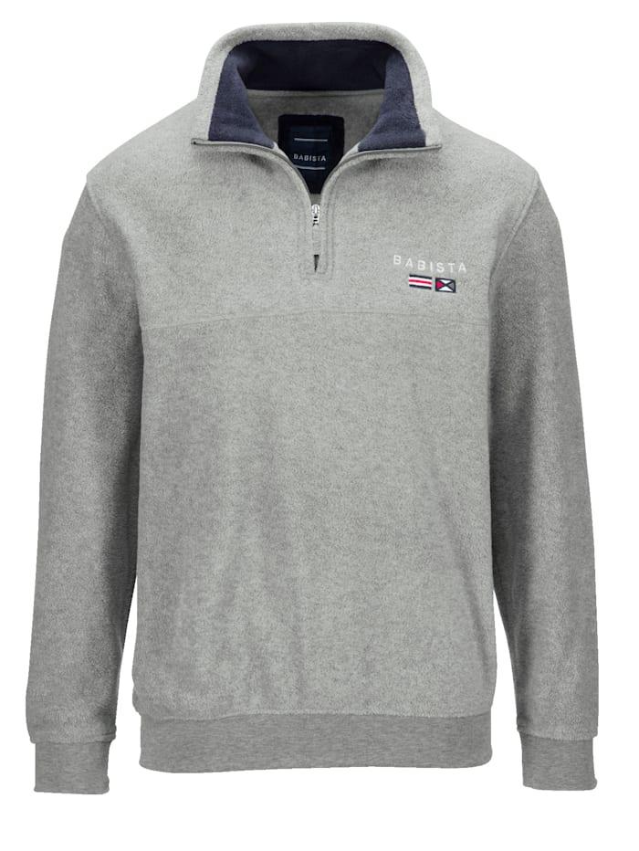 BABISTA Fleece-Sweatshirt, Grau