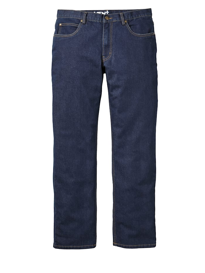 Men Plus Jeans i regular fit, Dark blue
