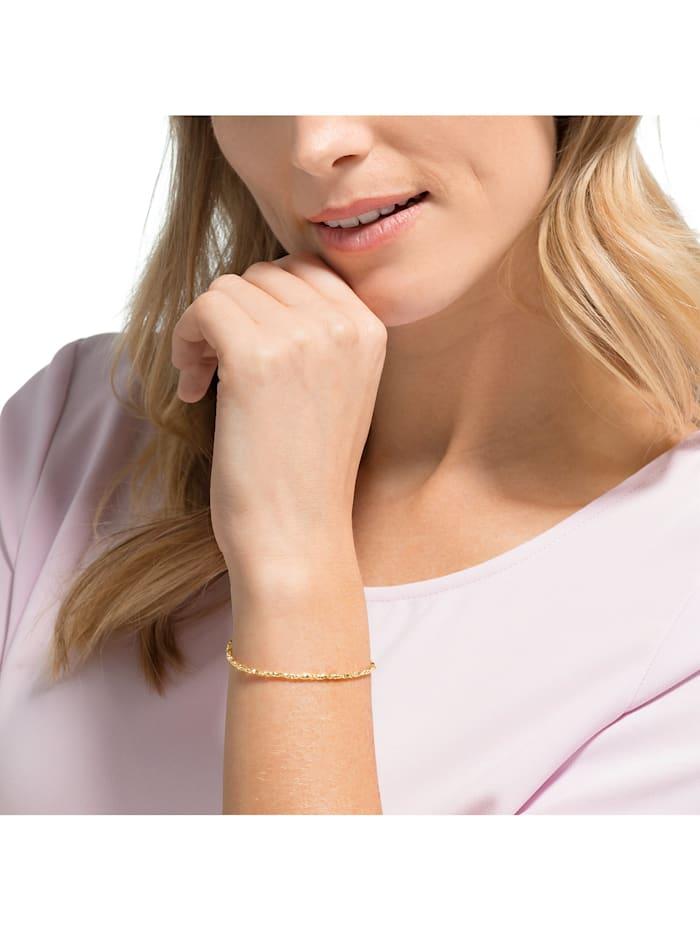 CHRIST Gold Damen-Armband Armband poliert 375er Gelbgold
