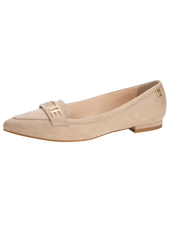 Jette Ballerina in puntig model, Taupe