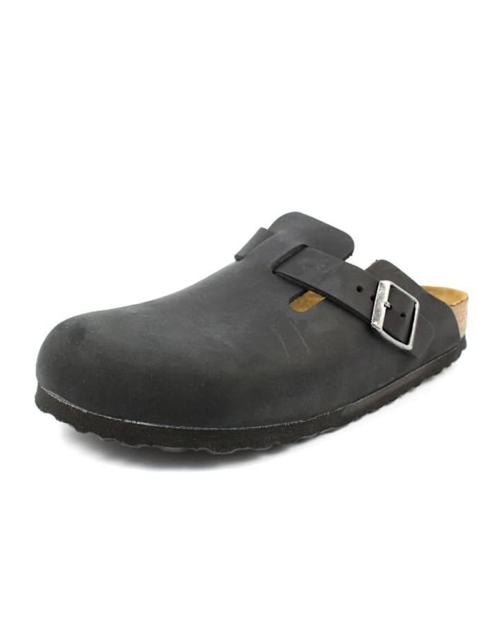 Birkenstock Pantoletten, schwarz