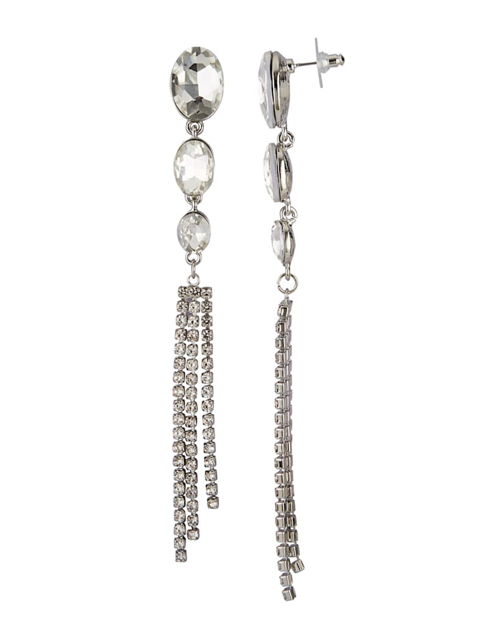 Ohrringe, Silberfarben