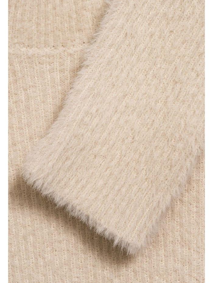 Softer Federgarn-Pullover