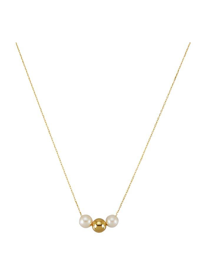 AMY VERMONT Collier avec perles de culture d'eau douce, Blanc