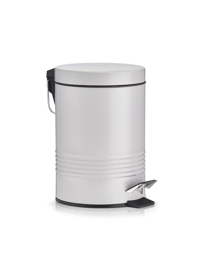 HTI-Living Kosmetikeimer 3 Liter, Metall, Grau