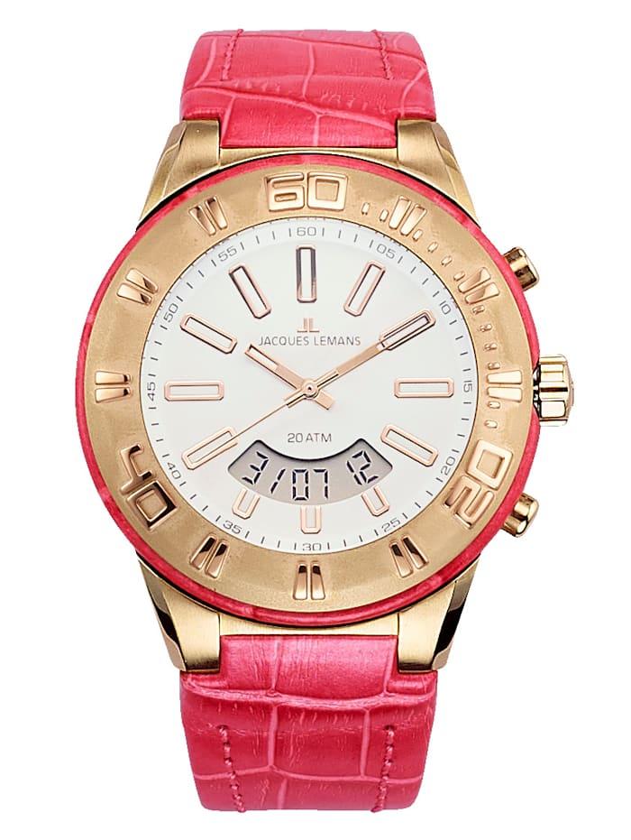 Jacques Lemans Horloge 1-1772G, Roze
