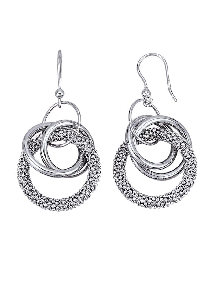 Diemer Trend Ohrringe in Silber 925, Silberfarben