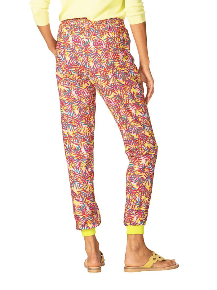 Pantalon à imprimé devant et dos
