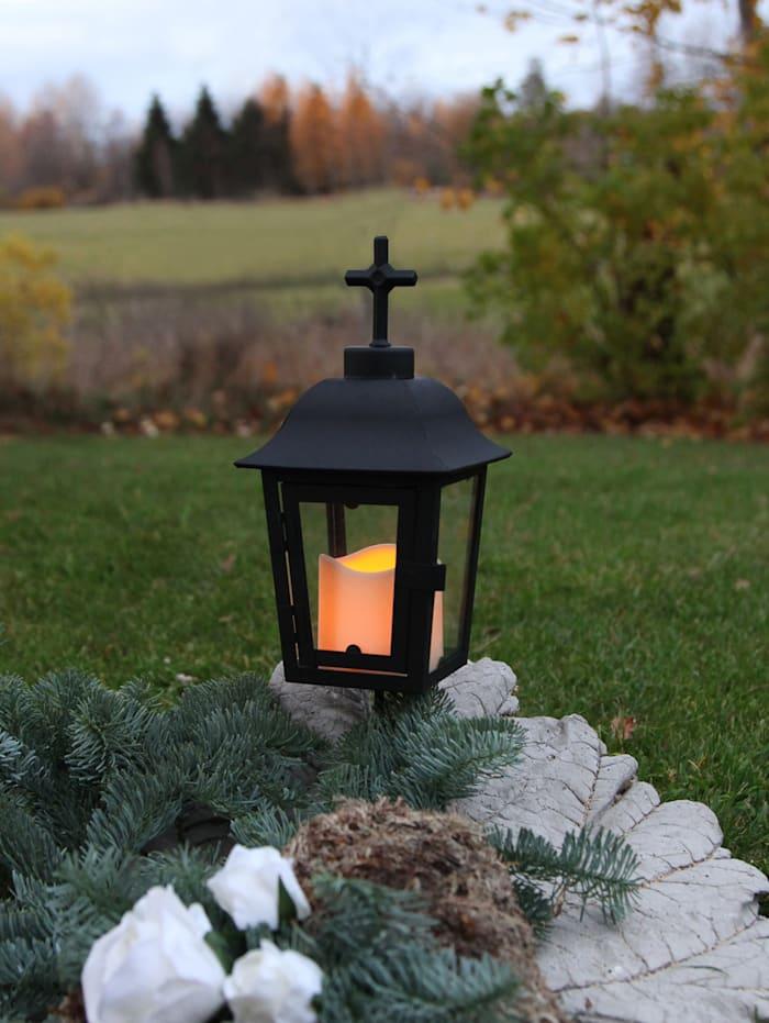 LED-lykta med utbytbar topp