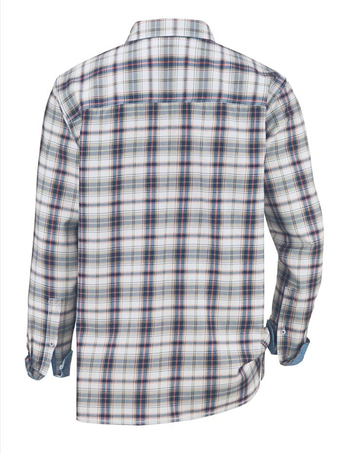 Hemd in gewaschener Qualität