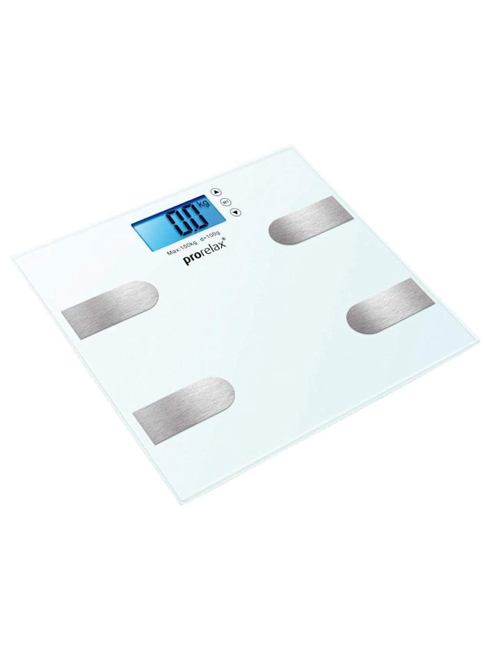 Prorelax Prorelax®multifunctionele weegschaal, wit