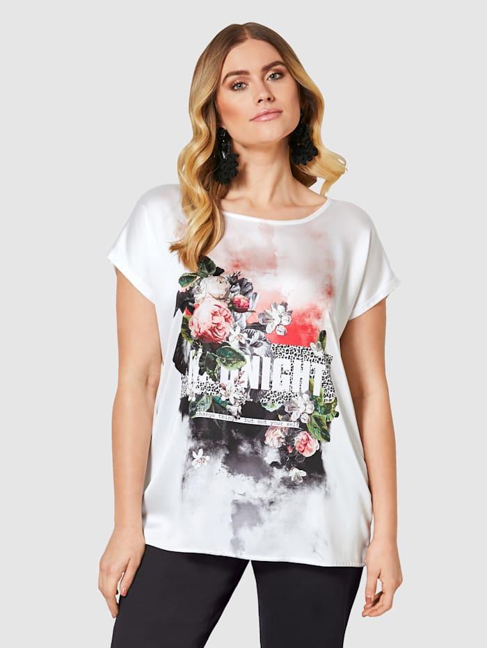 Sara Lindholm Shirt mit floralem Druck | Klingel
