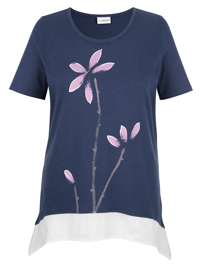 T-shirt à pointes d'aspect 2 en 1