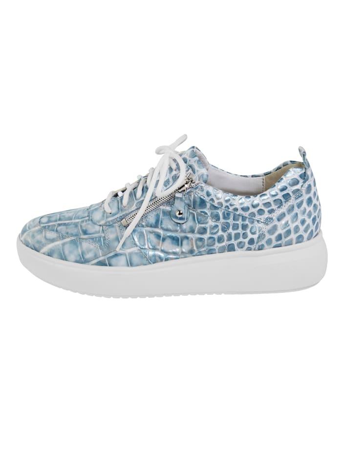 Sneakers avec glissière