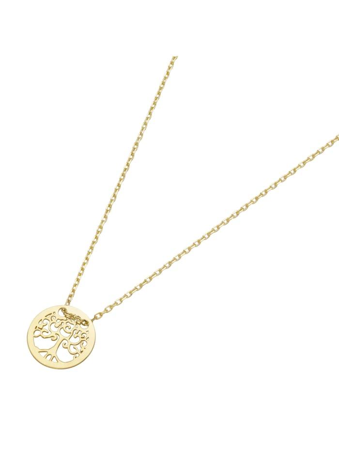 Luigi Merano Kette Lebensbaum, Gold 585, Gold