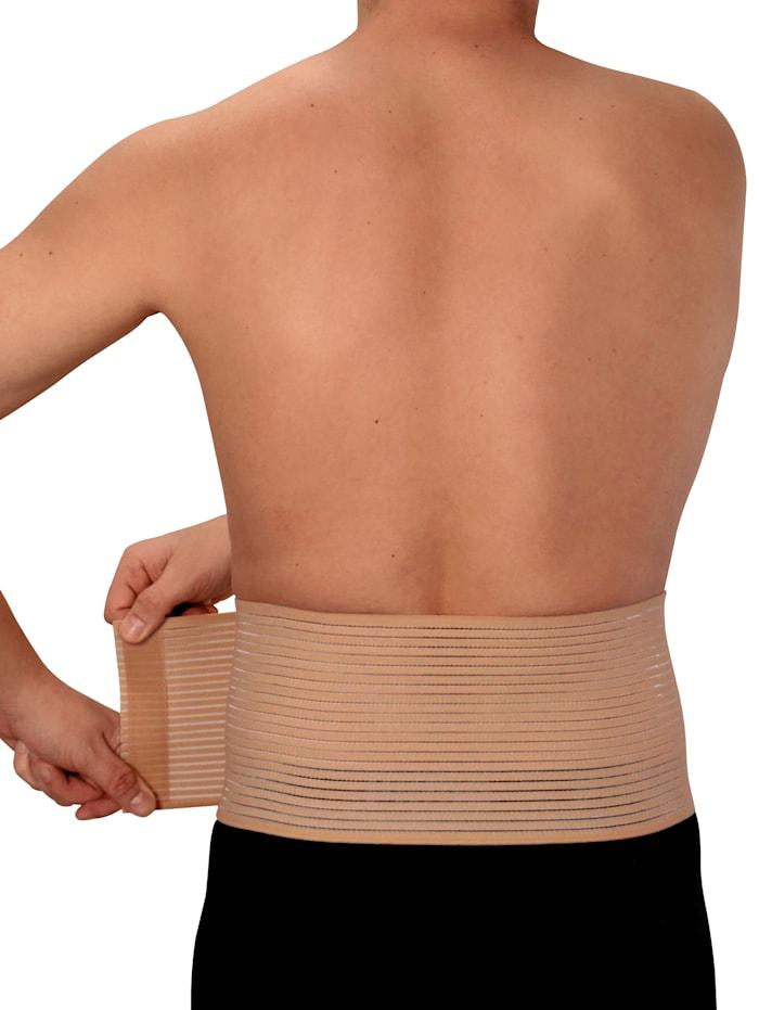 Hydas Bauch- und Rückenstützgürtel, natur