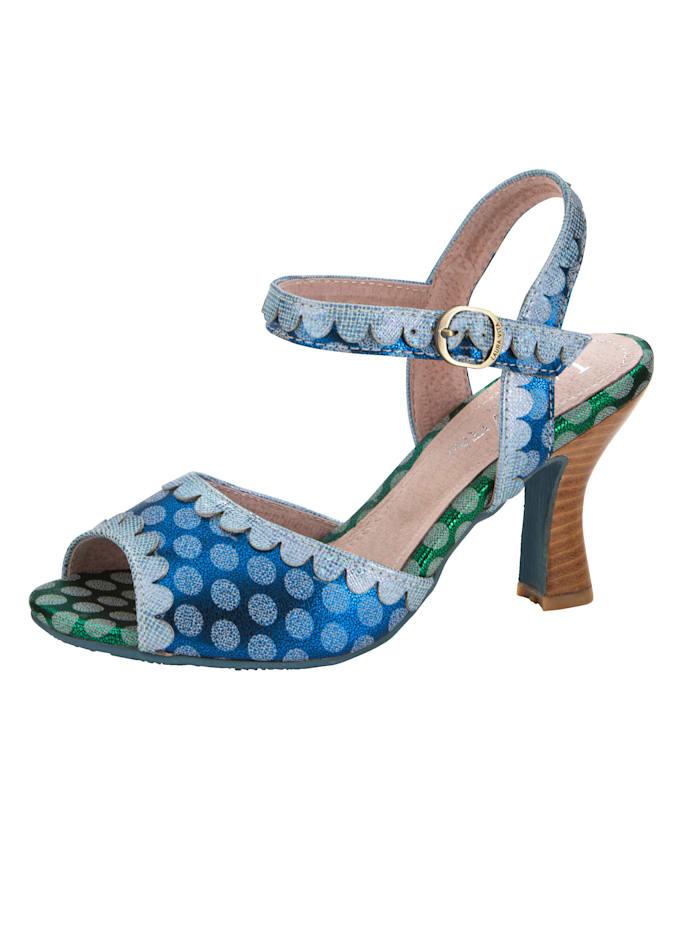 Sandaaltje met stippen