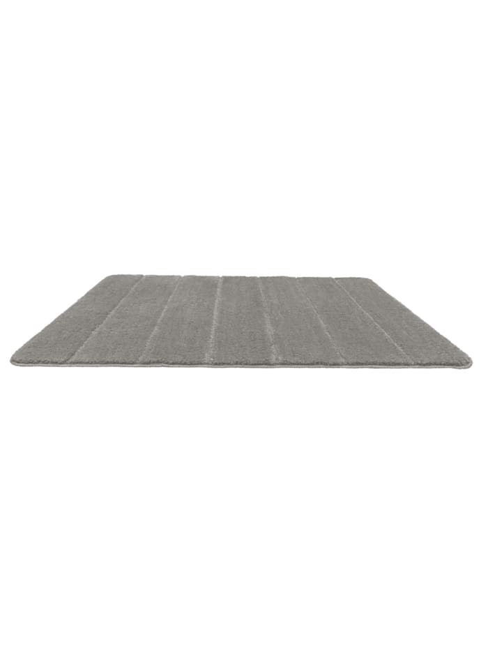 Badteppich Steps Light Grey, 70 x 120 cm, Mikrofaser