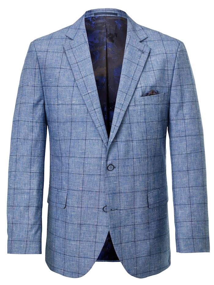 BABISTA Veste de costume avec coudières en velours, Bleu