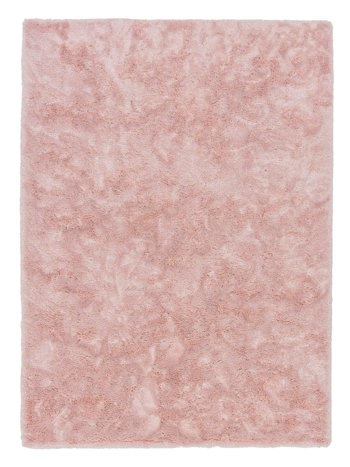 Schöner Wohnen Kollektion Hochflorteppich Harmony, Rosa