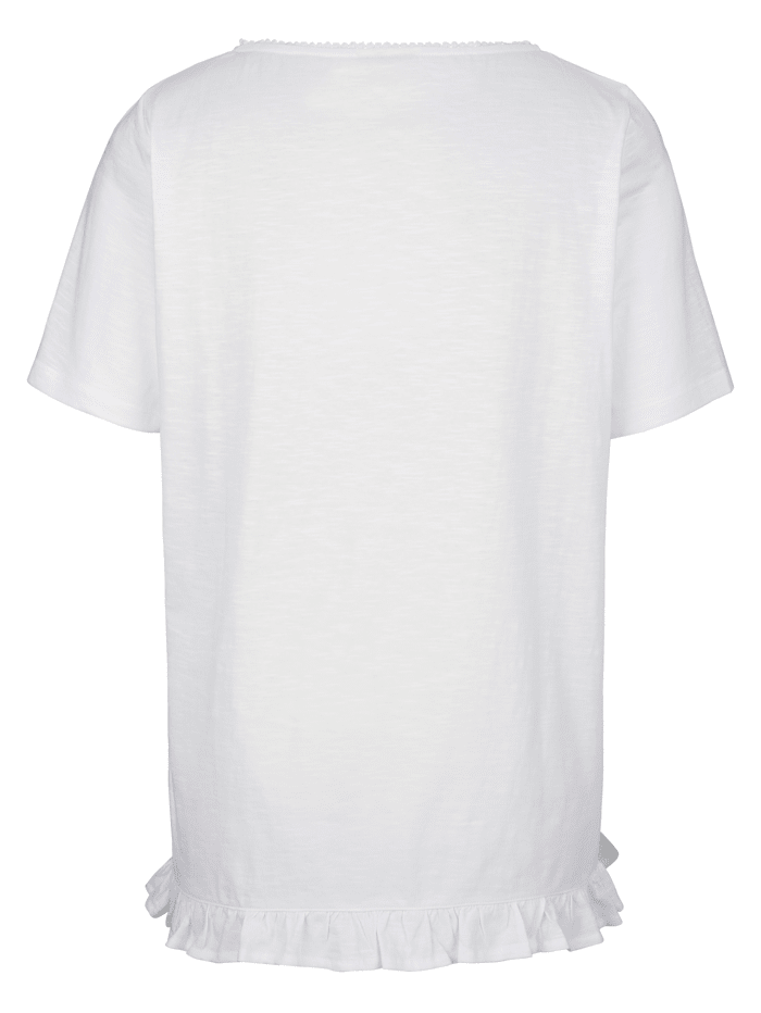 Tričko s ozdobnými kamienkami