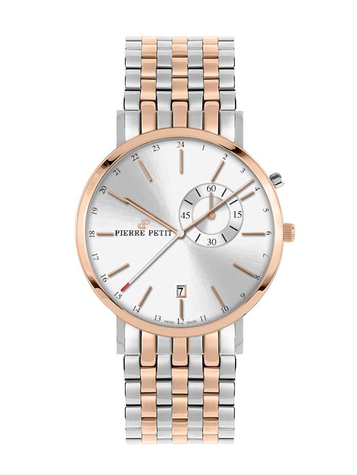 Pierre Petit Herrenuhr Nizza P-855G, Silberfarben