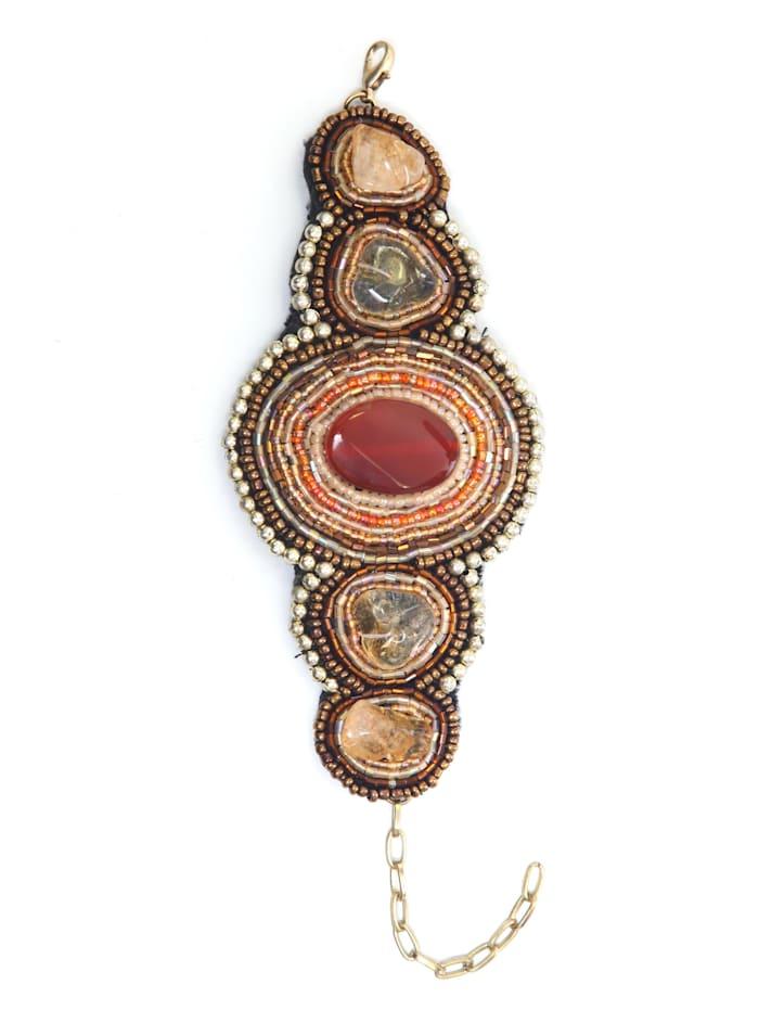 Collezione Alessandro Opulentes Armband Vanessa, mehrfarbig