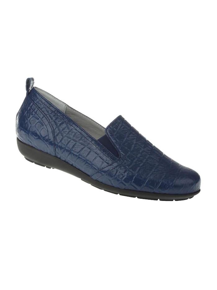 Natural feet Slipper Chloe, blau