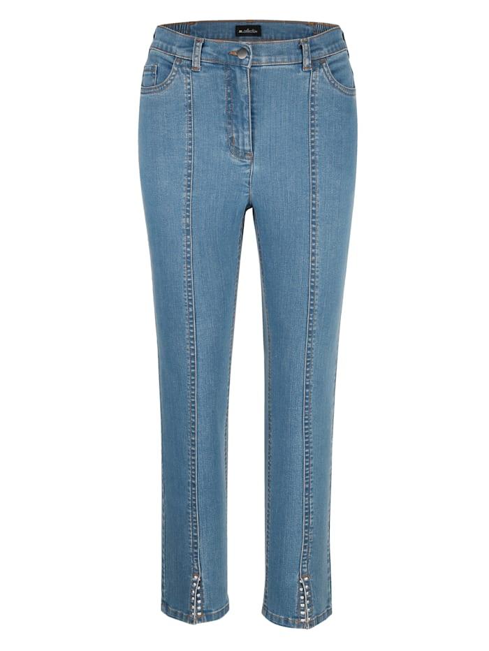 Jeans i ankellång modell