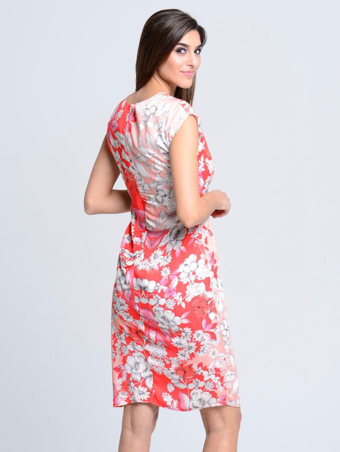 Robe imprimée avec imprimé exclusif Alba Moda