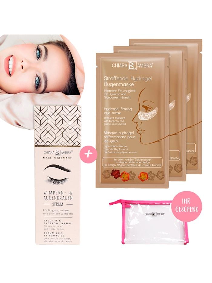 Chiara B. Ambra Augenmasken Set, Ungefärbt