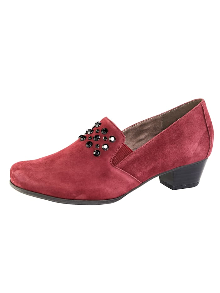 MONA Court shoes with a flexible sole, Bordeaux