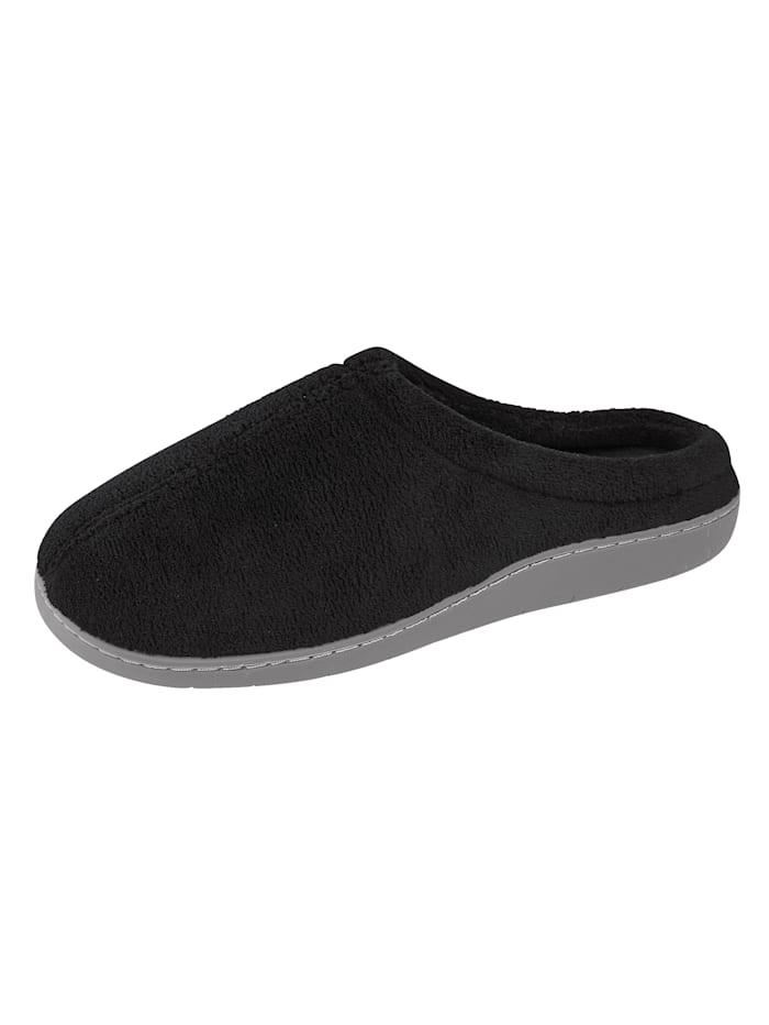 HSP Hanseshopping Slipper obuv, Černá