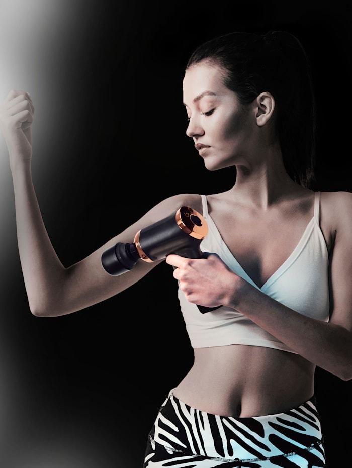 Akku-Massagegerät 'Massage-Gun', 3 verschiedene Massageaufsätze
