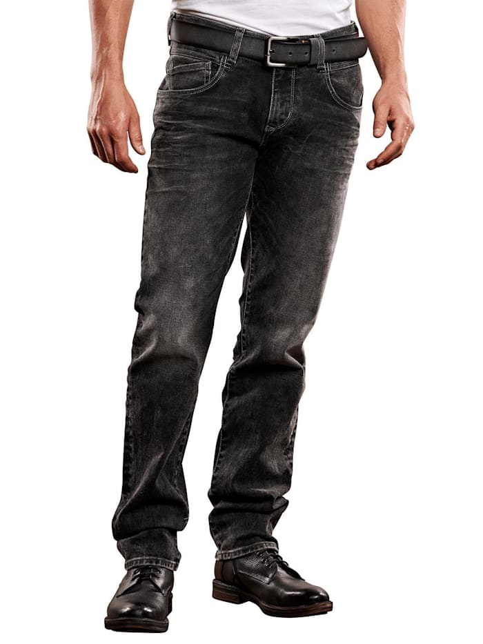 Engbers Jeans straight, Anthrazit