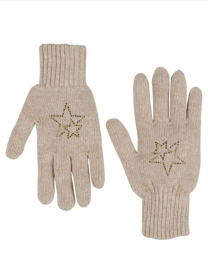 Handschuhe mit Woll- und Kaschmiranteil