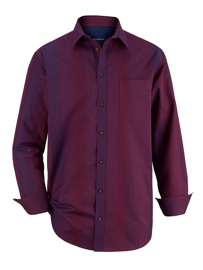 BABISTA Partyhemd mit leichter Glanzoptik, Beere