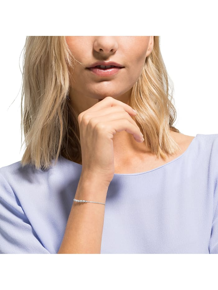 FAVS Damen-Armband 925er Silber 6 Zirkonia