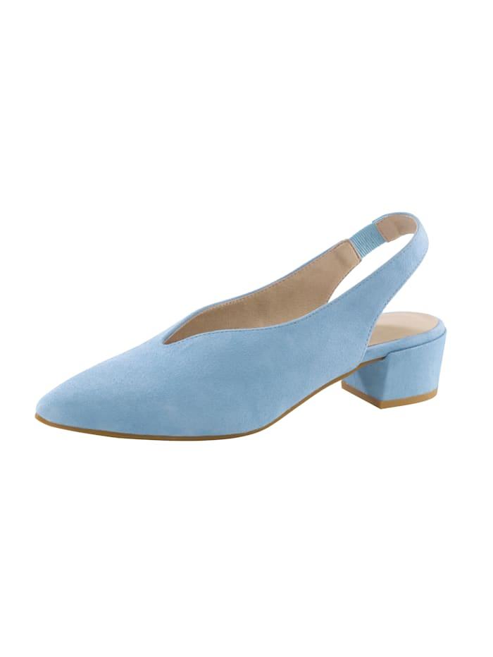 Sling in puntig model, Lichtblauw
