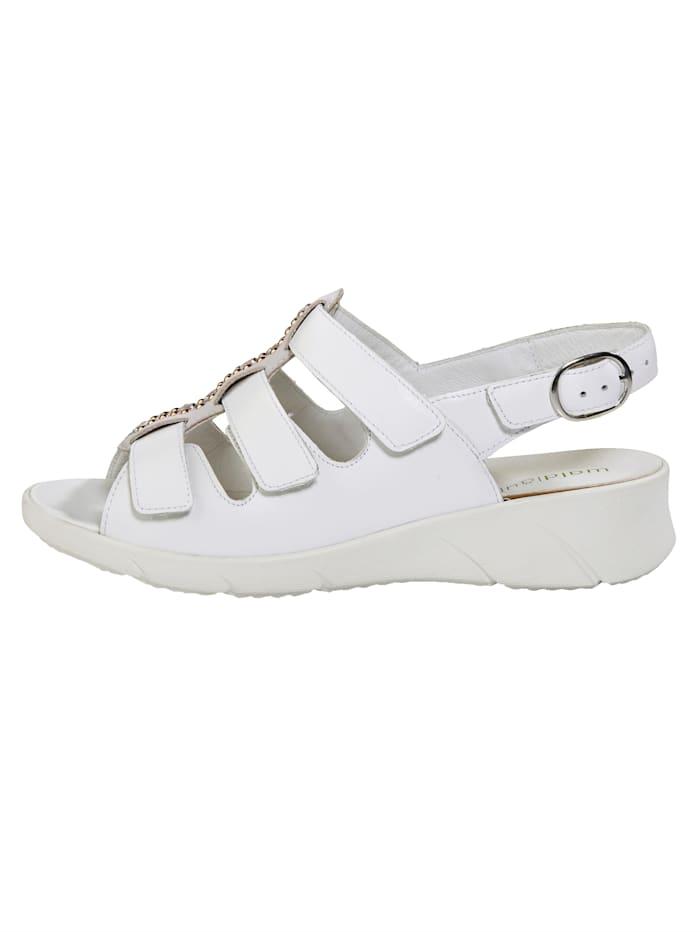 Sandales à petites pierres fantaisie