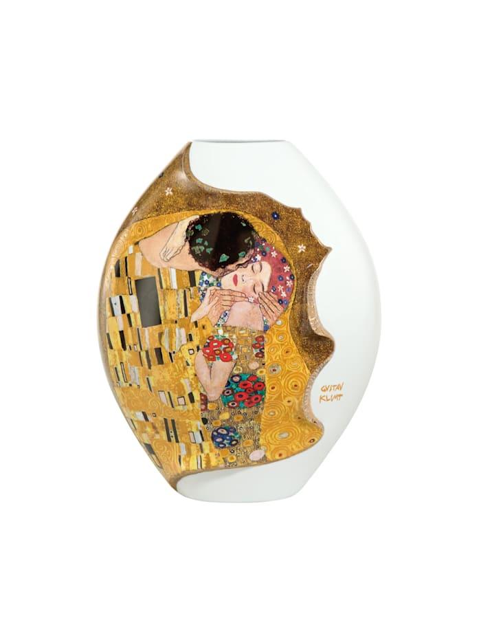 "Goebel Vase Gustav Klimt - ""Der Kuss"""
