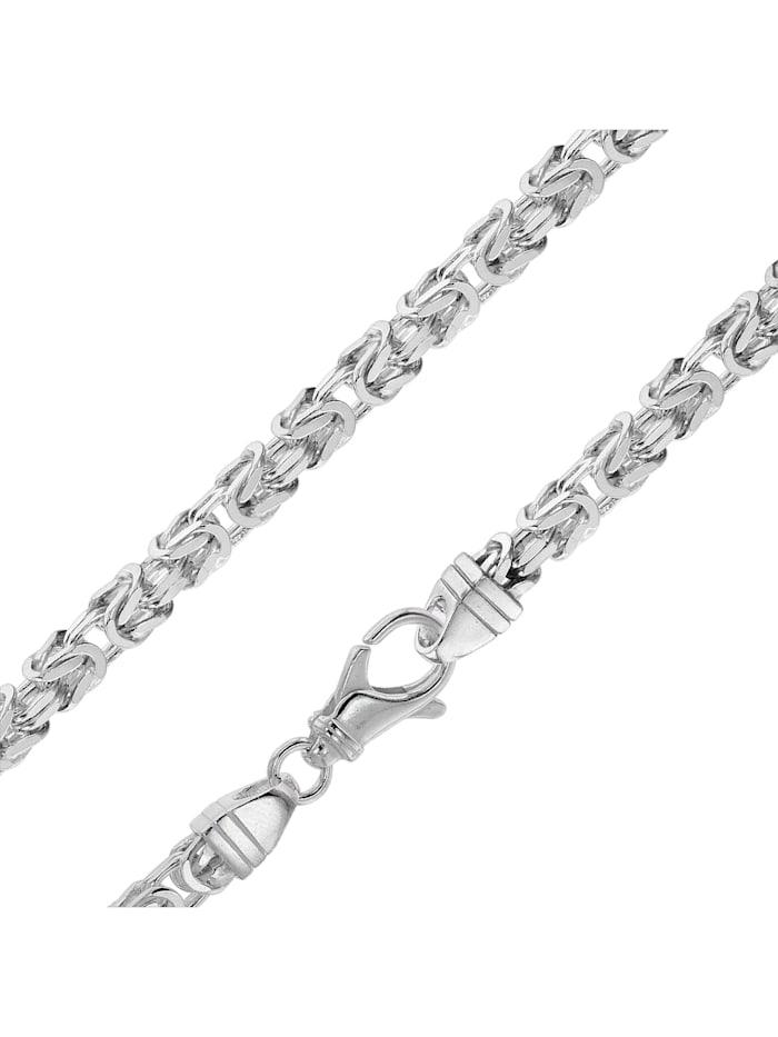 Königskette Herren-Armband Sterlingsilber 925 Breite 4,7 mm