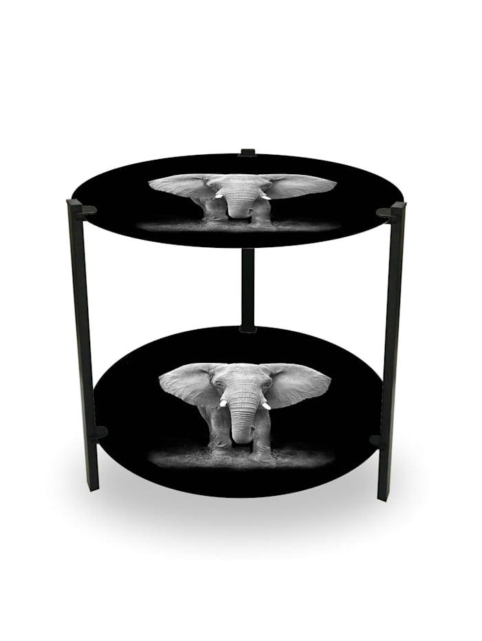 HTI-Line Beistelltisch Duo Elefant, Bunt