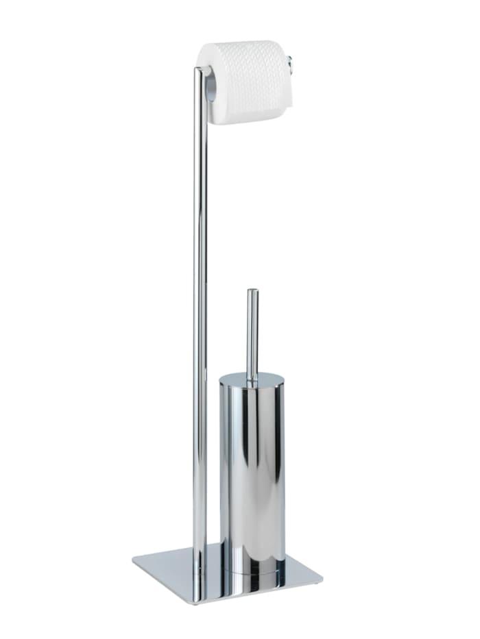 Wenko Stand WC-Garnitur Recco, Chrom