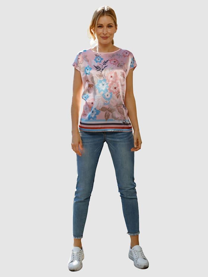 Jeans Laura Extra Slim - mit Zierband und Steinchenzier