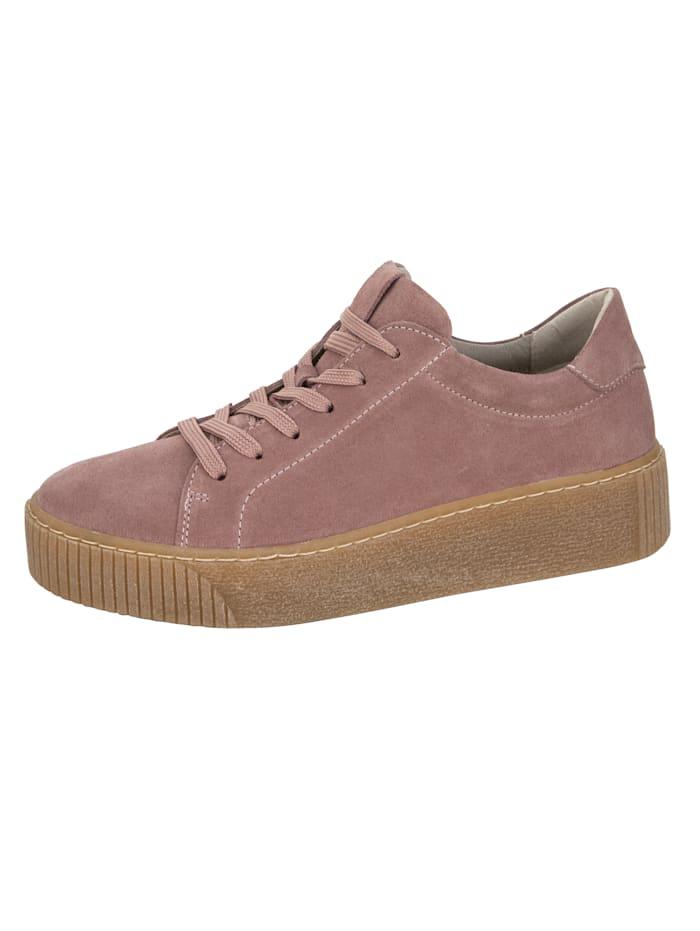 Filipe Shoes Plateausneaker in super modischer Optik, Rosé