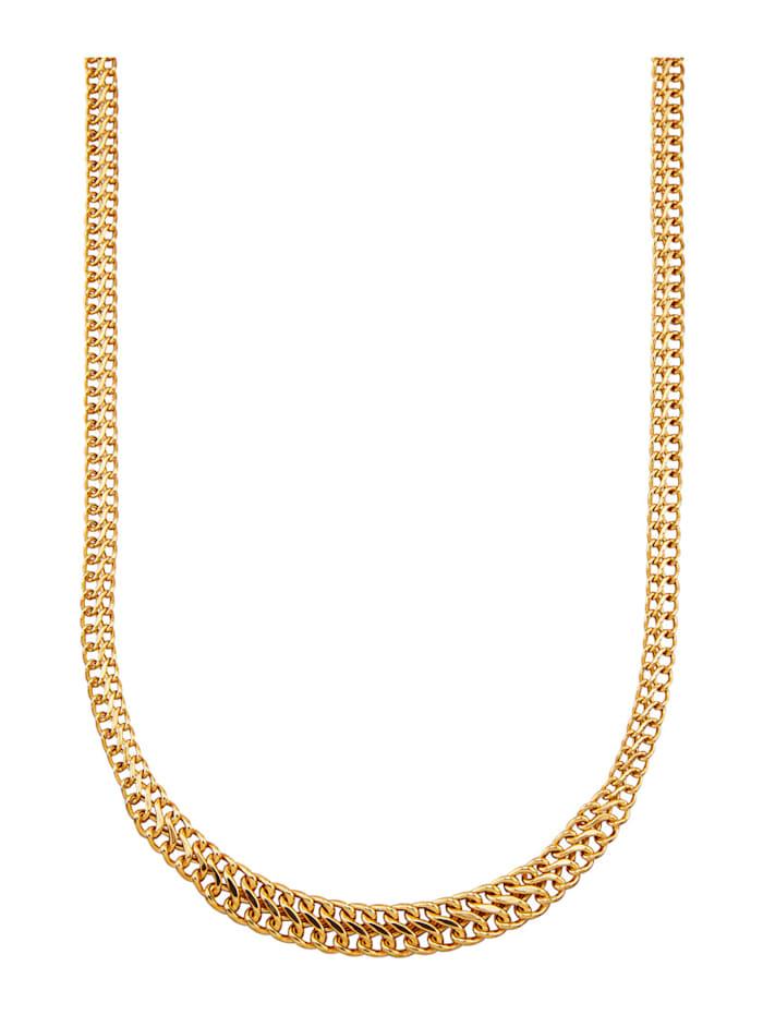 Diemer Gold Collier in Gelbgold 585, Gelbgoldfarben
