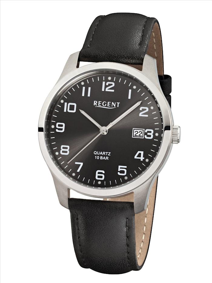 Regent Herrenuhr 11190162, Schwarz